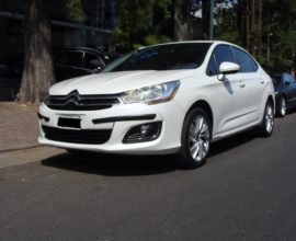 CITROEN C4 LOUNGE 2.0 TENDENCE PACK UNICA MANO 2015